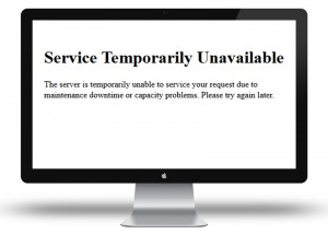 Service Temporarily Unavailable