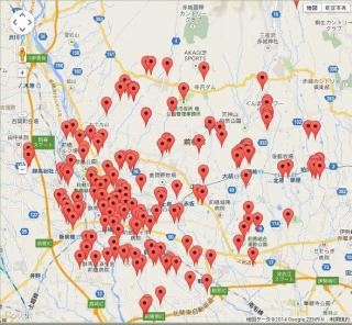 Google Mapで商圏の把握